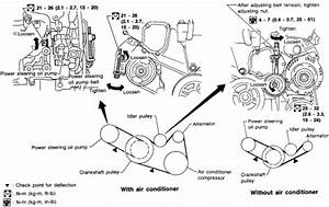 1998-05 Infiniti I30 V6 3 0l Serpentine Belt Diagram