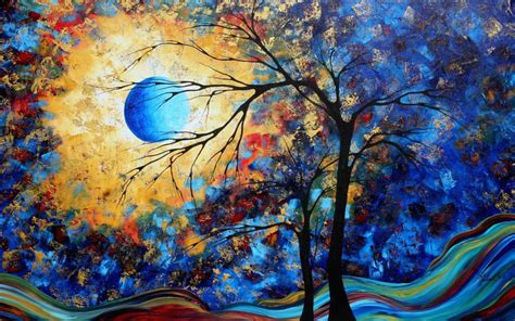 Wallpapers Colorful Paintings Wallpapers