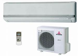 Mitsubishi 18000 Btu 2 Ton Split Air Conditioner With 3d