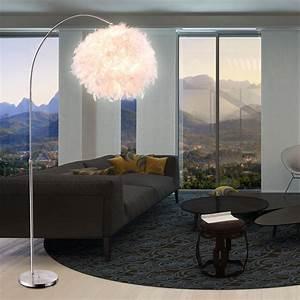 Stehlampe Mit Federn : design stehleuchte mit wei em lampenschirm aus federn lampen m bel r ume wohnzimmer ~ Sanjose-hotels-ca.com Haus und Dekorationen