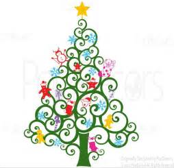 christmas tree wall decals