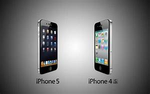 1920x1200 iPhone 5 vs Iphone 4s desktop PC and Mac wallpaper