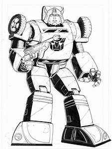 Free Coloring Pages Of Transformer Rescue Bots 6267