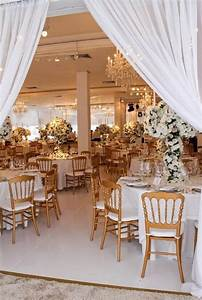 picture of exquisite gold and white wedding ideas With white and gold wedding decor