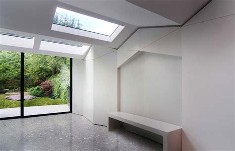 bureau de change architects bureau de change forms pleated roof for home extension