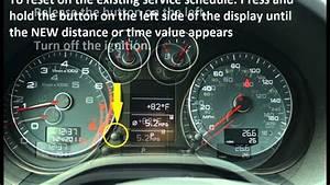 How To Reset Service Light Indicator Audi A3 2000