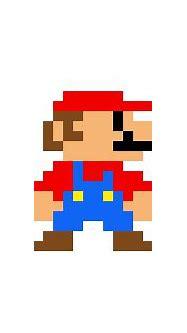 Mario-standing-retro   Pixel Art Maker