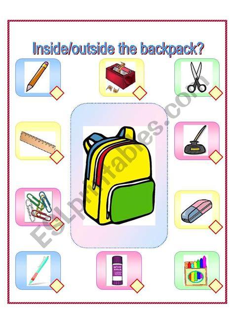 printables  backpack worksheet geotwitter kids activities