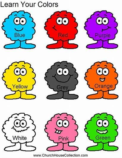 Colors Preschool Learn Printable Worksheet Colored Worksheets