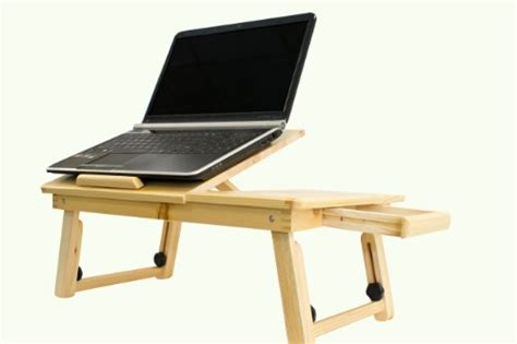 New Adjustable Computer Laptop Desk Bed Table Desk W