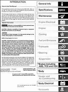 2002 Acura 3 5 Rl Repair Shop Manual Original Supplement