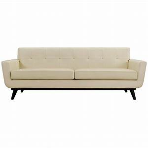 Modern beige sofa clifford modern craftsman walnut wrap for Modern beige sectional sofa furniture