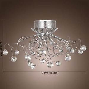 Lightinthebox modern crystal chandelier with lights