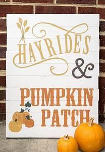 Diy, Fall, Pumpkin, Farm, Sign