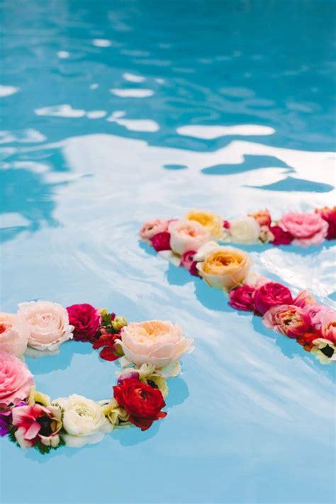 floating pool decorations ideas  pinterest