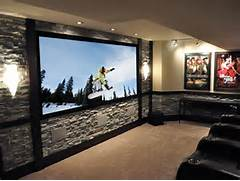Home Theater Designs by CEDIA 2012 Home Theater Finalist Rock Steady HGTV