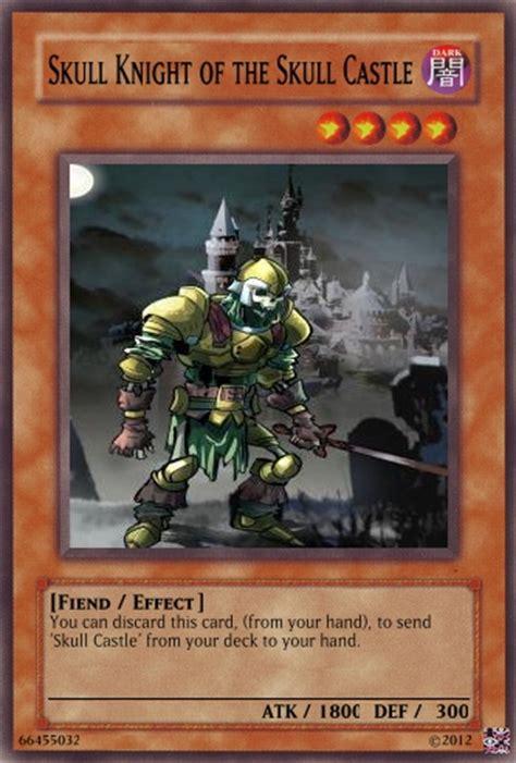 skull deck really cool summoned skull skull knight