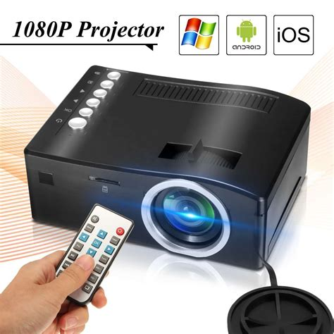 cheap hd uc18 led projector hd 1080p home theater beamer cheap