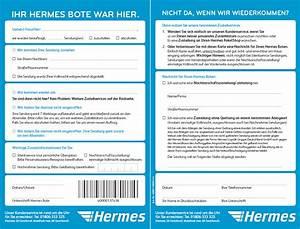 Hermes Lieferschein : eine hermes benachrichtigungskarte bnk hatte fast jeder online shopper wohl schon einmal im ~ Themetempest.com Abrechnung