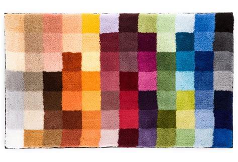 badezimmerteppich kleine wolke kleine wolke badteppich cubetto multicolor hertie de
