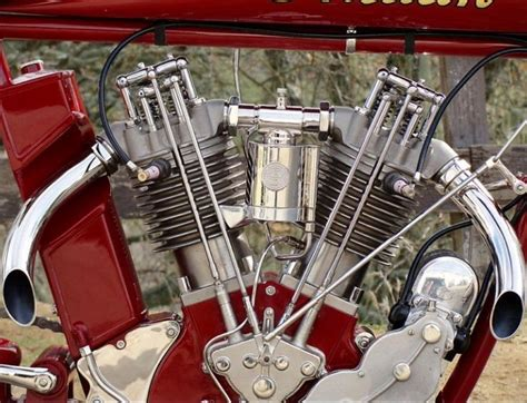 Hella Kool Indian 8-valve Flame Thrower!