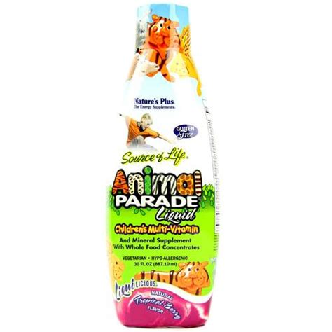 natures  animal parade liquid childrens multi