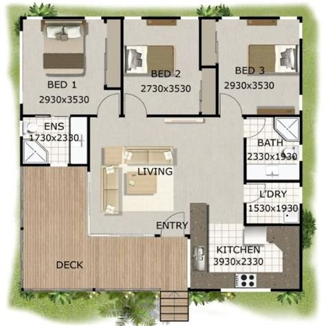 3 Bedroom Small House Design by 100 3 Bedroom Bach Home Best Small House Plans