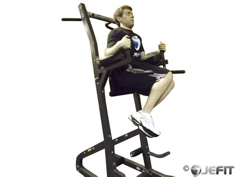 Chair Leg Raise Oblique by Oblique Raises On Parallel Bars Exercise Database