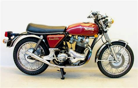 Restored Norton Commando S-type
