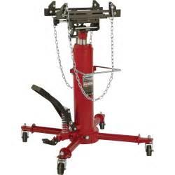strongway 1 2 ton 2 stage telescoping transmission jack