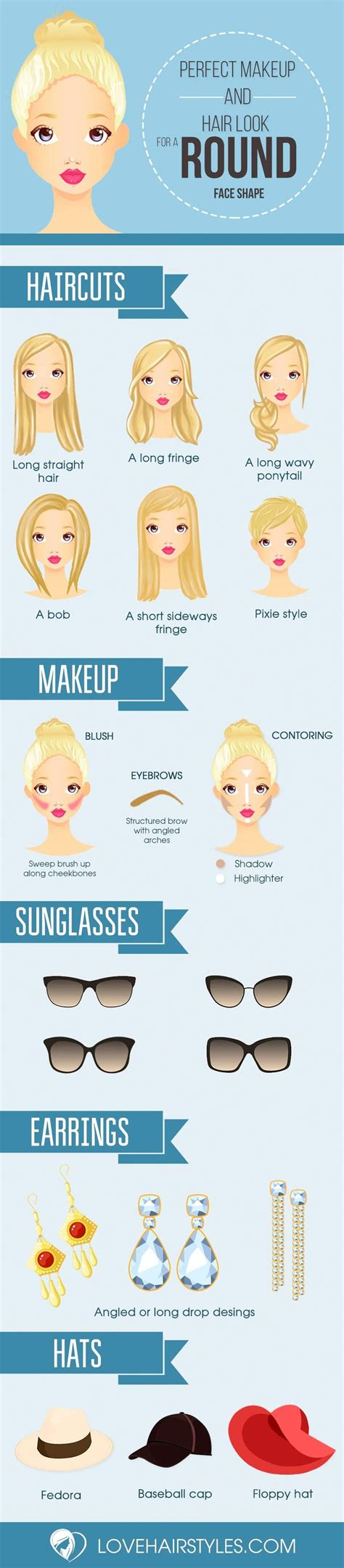 25 best ideas about round face shapes on pinterest