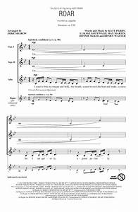 Roar Arr Deke Sharon Sheet Music Katy Perry SSA Choir