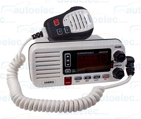 Boat Vhf Radio Channels by Uniden Um455 Vhf Boat Marine Radio Two Way Waterproof