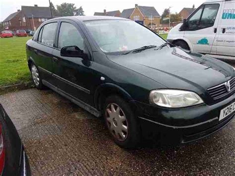 Vauxhall Astra Spares Or Repair Mk4 1.6l. Car For Sale