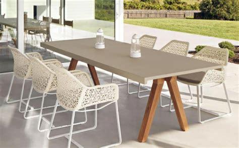 chaise de jardin design mobilier de jardin design original par urquiola