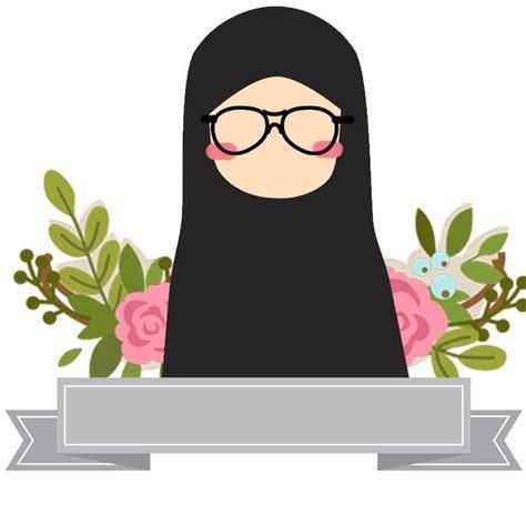 Perempuan Hijab Kartun Hamil Wallpaper Cute Cartoon Muslimah