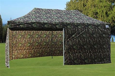 pop   wall canopy party tent gazebo ez camouflage  model upgraded frame  delta