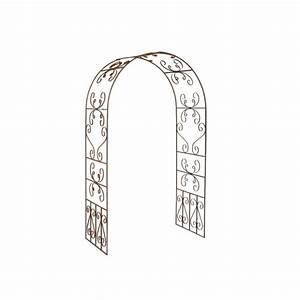 Arche De Jardin En Fer Forgé : arche de jardin en fer forg elisabeth arches de jardin ~ Premium-room.com Idées de Décoration