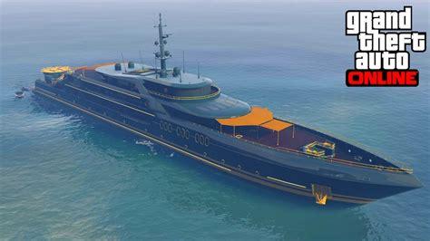 Yacht Gta Online by 1er Yacht Quot L Orion Quot Personnalisation Decouverte Prix