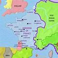TimeMaps | France map, France, History timeline