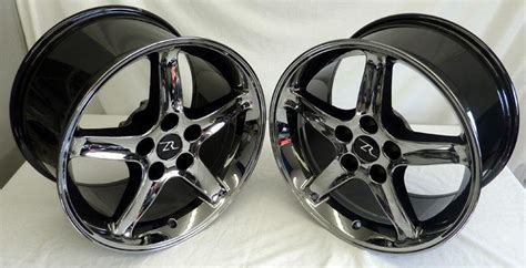 find chrome mustang cobra  style wheels