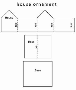 paper house patterns With paper house templates to print