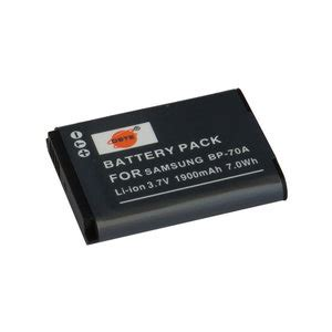 Battery Samsung Bp 70a By Yesmart bp 70a battery for samsung cameras