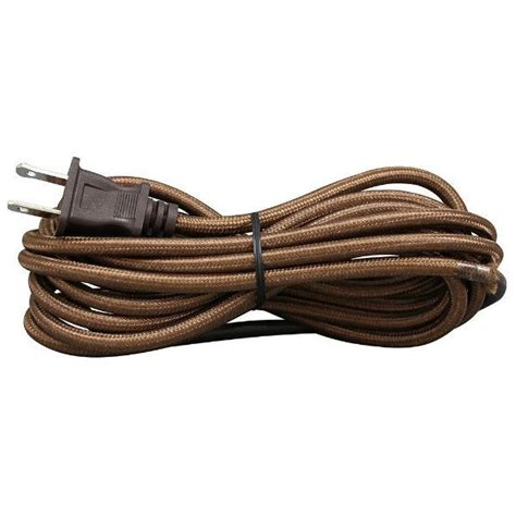 Lamp Wire Cloth Covered Cord Plug Sets