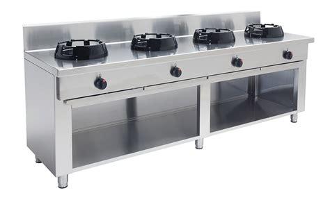 gas wok 4 br 228 nnare 4 215 21 kw cc 04 2000x500x850 mm zilox