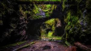 Wallpapers, Sweden, Persberg, Crag, Nature, Moss, 1366x768