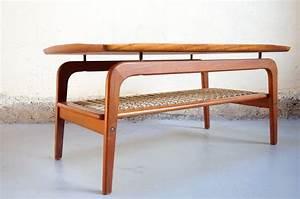 Vendu table basse scandinave danois design teck vintage for Meuble scandinave annee 50 14 secretaire vintage design des annees 50 60 vendu
