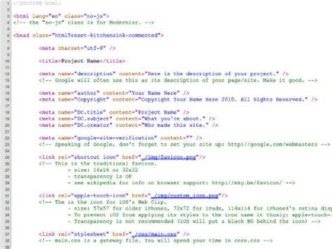 Como Se Hace Una Web Con Templates Html5 by Html5 Reset Templates Para Desarrollo Web Pixelco