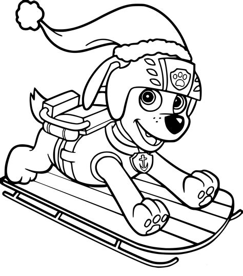 Paw Pat Free Colouring Pages