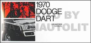 1970 Dodge Dart  U0026 Challenger Repair Shop Manual Reprint